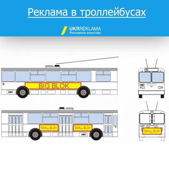 троллейбусы реклама Одесса